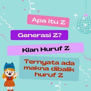 blogger di nisazet.com makna huruf z