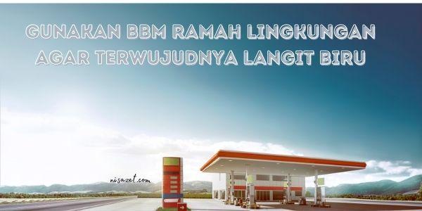 bbm peduli lingkungan