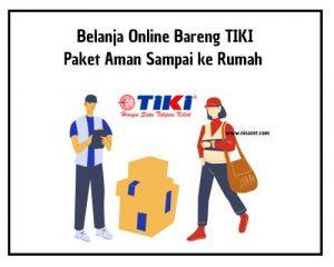 belanja online bareng TIKI cover