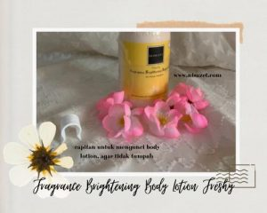 body care body lotion freshy