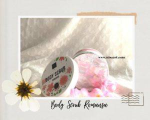 body care scarlett romansa packaging