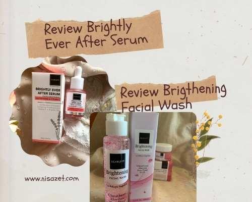 brightely serum dan facial wash scarlett