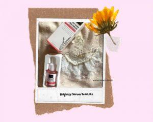 serum scarlett packaging