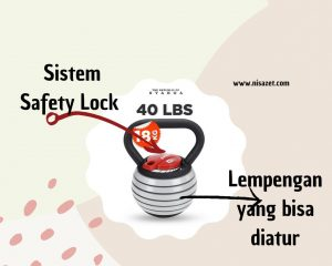 review kettlebell svarga adjustable sistem lock