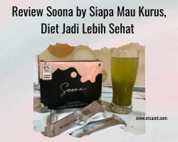 review minuman soona by siapa mau kurus